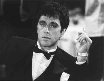 Scarface And Pile Cocaine