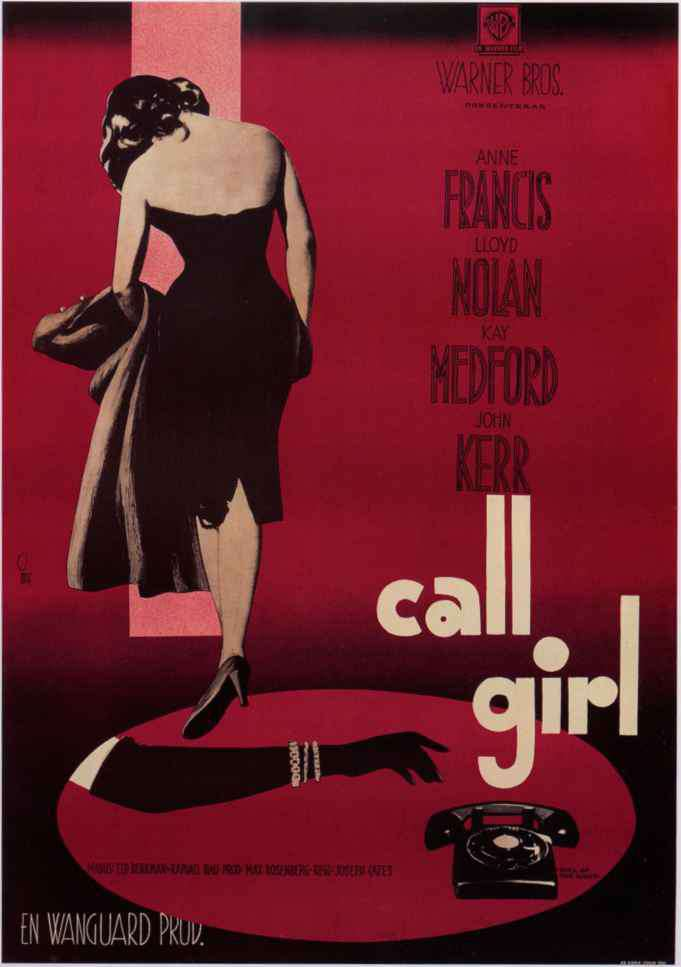 Girl The Night Poster 1960