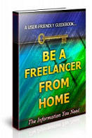 Be a Freelancer from Home