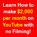 Make Money From Youtube With No Filming, No Marketing And No Website!