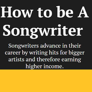 How To Be A Song Writer