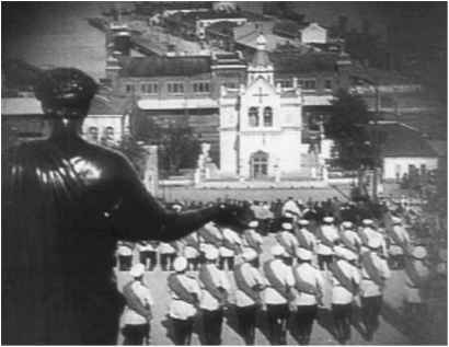 an analysis of the film battleship potemkin One of the most famous silent films ever made, one that gets shown  battleship  potemkin was a film created in tumultuous times, subject to.